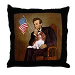 Lincoln's Cavalier Throw Pillow