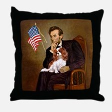 Lincoln's Cavalier Throw Pillow