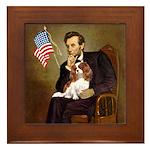 Lincoln's Cavalier Framed Tile