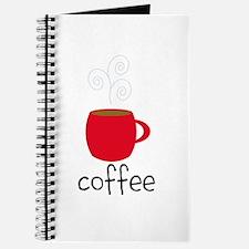 Red Coffee Mug Journal