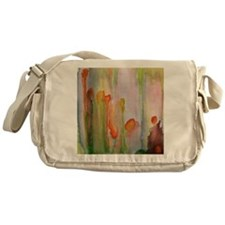 """slip"" abstract watercolor painting Messenger Bag"