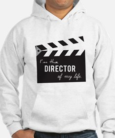 Director of my life Quote Clapperboard Jumper Hood