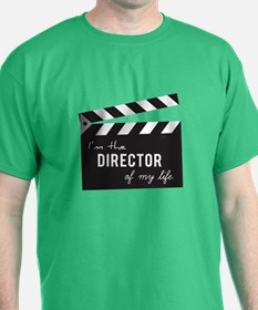 Director of my life Quote Clapperboard T-Shirt