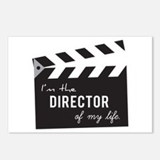 Director of my life Quote Clapperboard Postcards (