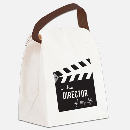 Director of my life Quote Clapperboard Canvas Lunc