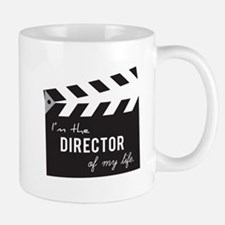 Director of my life Quote Clapperboard Mugs