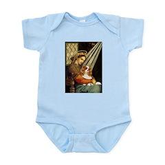 Madonna & Cavalier Infant Bodysuit