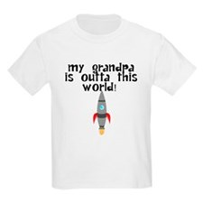 My Grandpa Is Outta This World T-Shirt