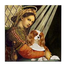 Madonna & Cavalier Tile Coaster