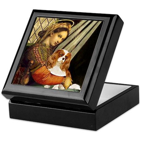 Madonna & Cavalier Keepsake Box