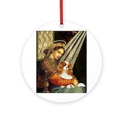 Madonna & Cavalier Ornament (Round)