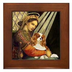 Madonna & Cavalier Framed Tile