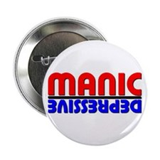 Manic Depression Button