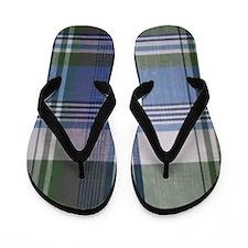 comfortable plaid Flip Flops