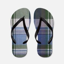comfortable plaid Flip Flops