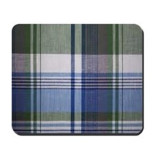 comfortable plaid Mousepad