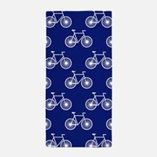White Bicycle, Cycling Pattern; Dark Blue Beach To