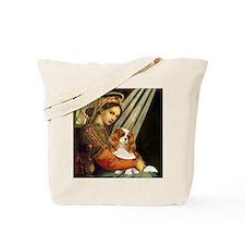 Madonna & Cavalier Tote Bag