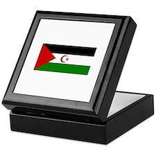Western Sahara Keepsake Box