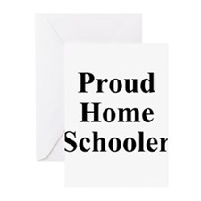 Proud Homeschooler Greeting Cards (Pk of 10)