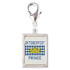 OKTOBERFEST PRINCE Silver Portrait Charm