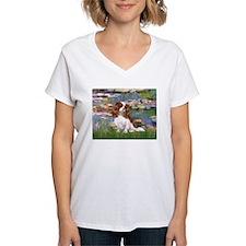 Lilies2 & Cavalier Shirt