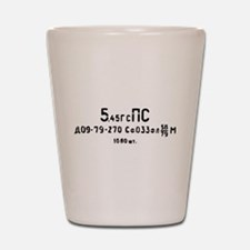 5.45x39 factory 270 spam can Shot Glass