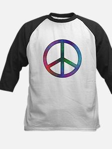 Multicolor Peace Sign Tee