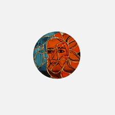 Hatha Sun/Moon Version 3 Mini Button