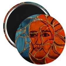 Hatha Sun/Moon Version 3 Magnet