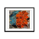 Hatha Sun/moon Version 3 Framed Panel Print