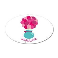 With Love Wall Decal