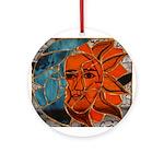 Hatha Sun/Moon Version 3 Ornament (Round)