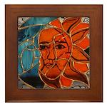 Hatha Sun/Moon Version 3 Framed Tile