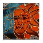Hatha Sun/Moon Version 3 Tile Coaster
