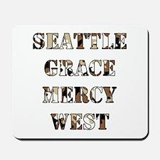 SEATTLE GRACE Mousepad