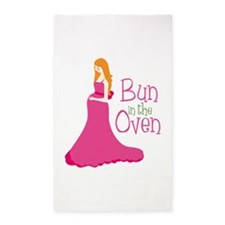 Bun In The Oven 3'x5' Area Rug