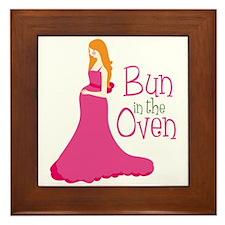 Bun In The Oven Framed Tile