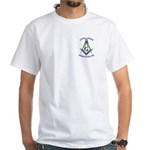 Level Lodge Masonic Scottish Rite White T-Shirt