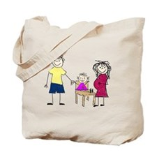 Our Growing Family Tote Bag