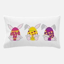 Easter Bunny Eggs Pillow Case