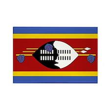 Swaziland Rectangle Magnet