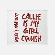 CALLIE IS MY... Throw Blanket