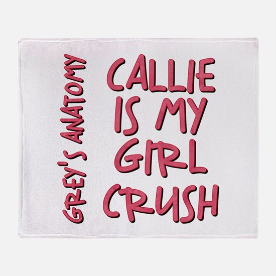 CALLIE IS MY... Throw Blanket