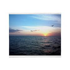 sunset Throw Blanket