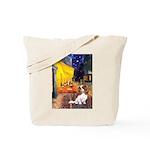 Cafe & Cavalier Tote Bag