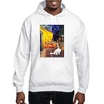 Cafe & Cavalier Hooded Sweatshirt
