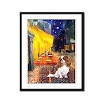 Cafe & Cavalier Framed Panel Print