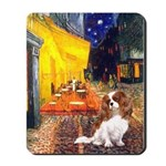 Cafe & Cavalier Mousepad