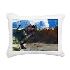 Giganotosaurus Rectangular Canvas Pillow